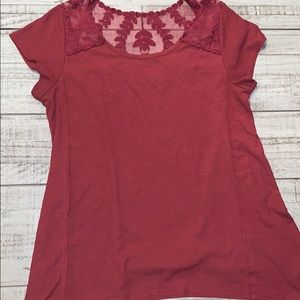 Lace Maurice's shirt super cute fall color size L